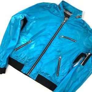 Rag & Bone Moto Full Zip Windbreaker Jacket SZ4